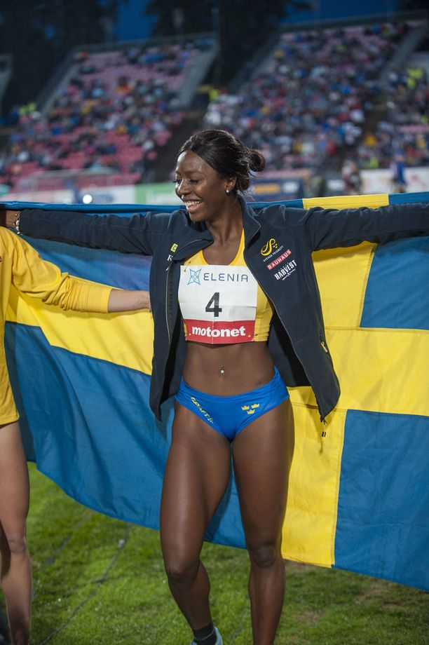 Khaddi Sagnia voitti Finnkampenin viikonloppuna Tampereella.