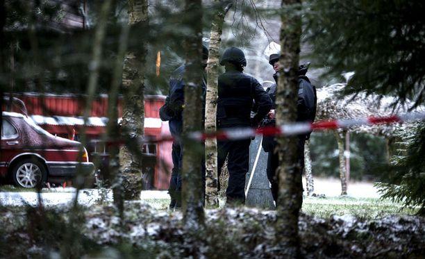 Pommi räjähti autokatoksessa Korsnäsissä joulukuussa.