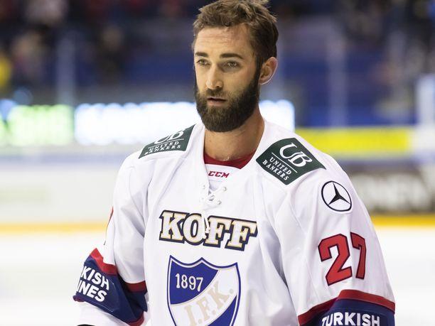 Kyle Quincey otti tyhmiä jäähyjä keskiviikkona Tampereella.