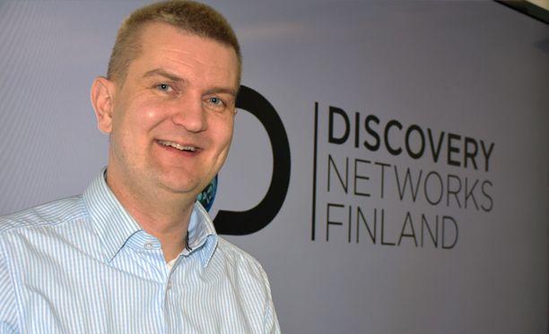 Antti Haajanen, 42, johtaa Discovery Networks Finlandin urheiluasioita. Hänen vastuualueeseensa kuuluvat muun muassa ensi vuoden talviolympiakisat Etelä-Koreassa.