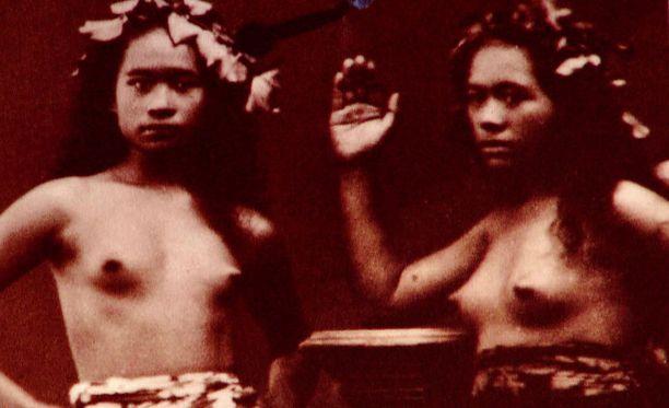 Tahitilaisten nuorten tyttöjen toivottiin synnyttävän länsimaisille aikuisrakastajilleen lapsia.