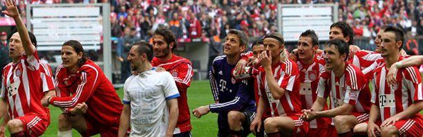 Saksan jalkapallomestarit vuosimallia 2010.