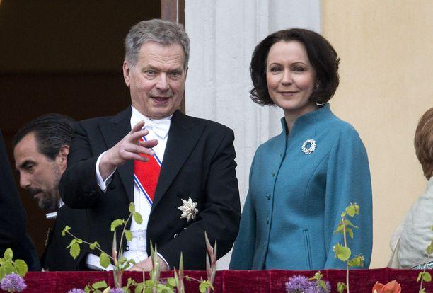 Jenni Haukio ja Sauli Niinistö avioituivat vuonna 2009.