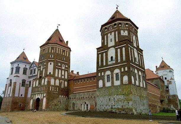 Mirin linna on restauroitu tällä vuosikymmenellä.