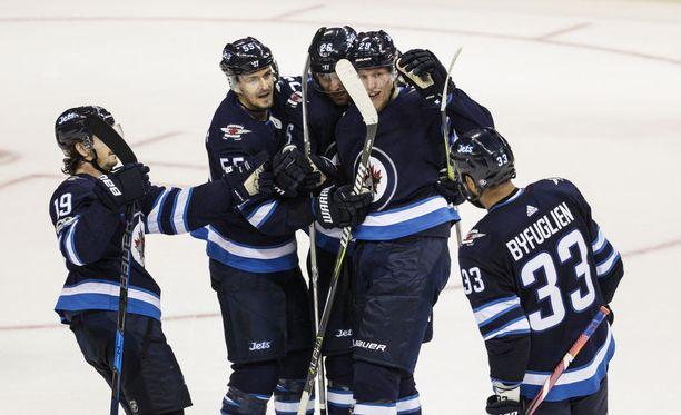 Jets-Wild-ottelu pelattiin aikaisin tiistaiaamuna Suomen aikaa.