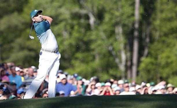 Espanjalainen Sergio Garcia on voittanut golfin Masters-turnauksen Augustassa.
