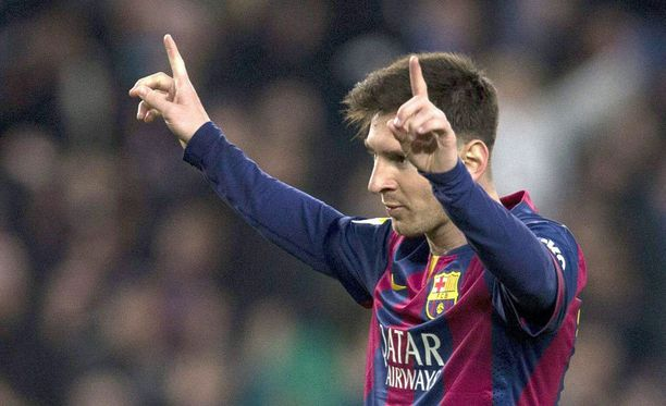 Leo Messi tuuletti eilen kahdesti.