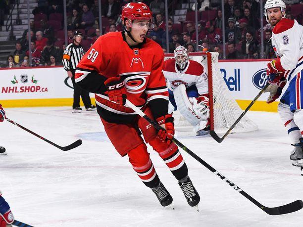 Janne Kuokkasen NHL-visiitti kesti tällä kertaa kolme ottelua.