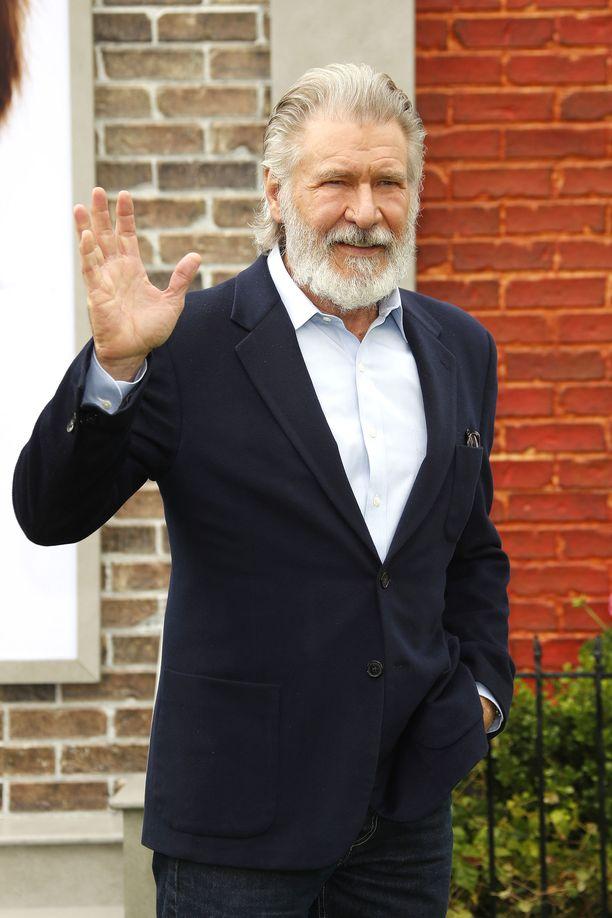 Harrison Ford edusti Lemmikkien salainen elämä 2 -elokuvan ensi-illassa Los Angelesissa viikonloppuna.