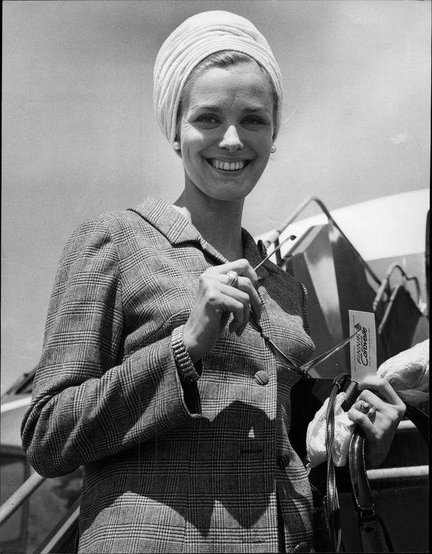 Marita Lindahl kuvattuna vuonna 1965.