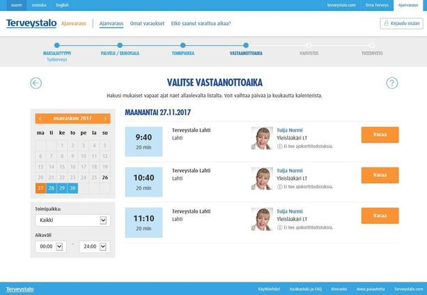 Tuija Nurmi työskentelee Terveystalossa yleislääkärinä.