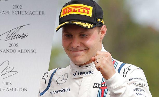 Valtteri Bottas on tyytyväinen Williamsin kehitykseen kauden aikana.