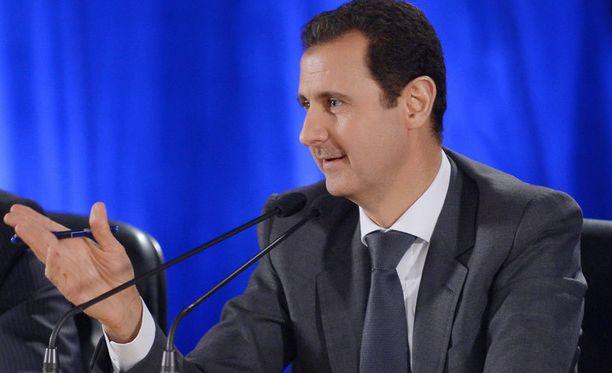 Bashar-al-Assad ei halua Syyrian olevan lännen leikkikalu.
