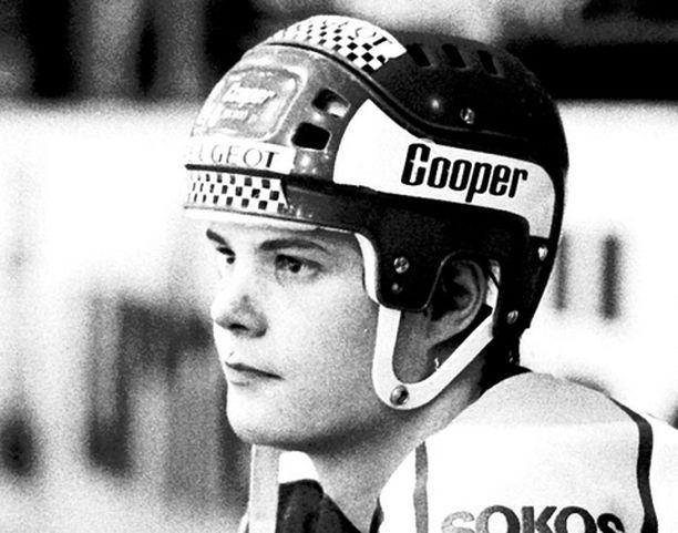Erik Hämäläinen vuonna 1986.