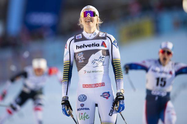 Stina Nilsson lähtee sittenkin Seefeldiin.
