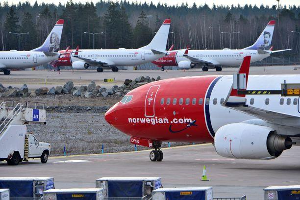 Norwegianin lentueessa MAX-koneiden osuus on 11 prosenttia.