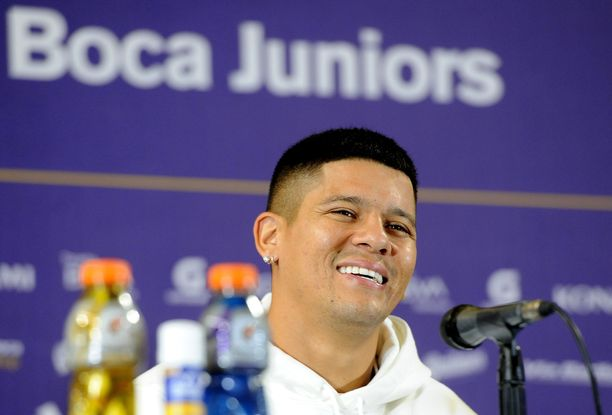 Marcos Rojo löi järjestyksenvalvojaa ottelun jälkeen.