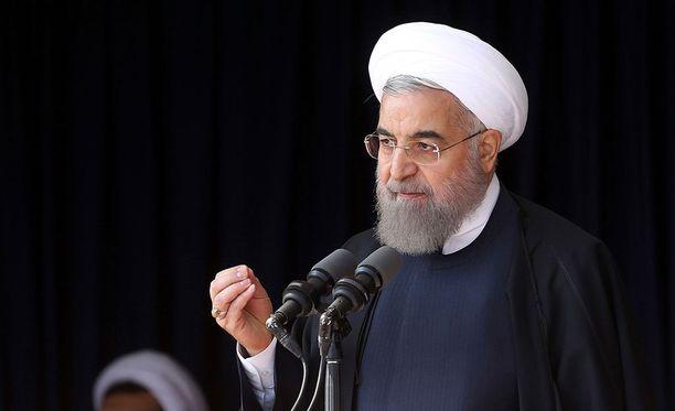 Presidentti Hassan Ruhan ja Sauli Niinistö tapasivat tänään.