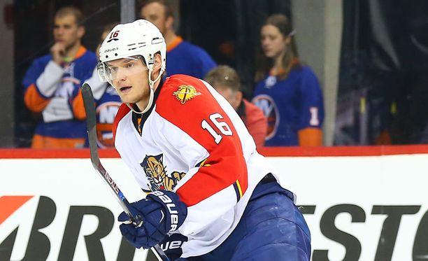 Aleksander Barkov on ehdolla NHL-pelin kanteen!