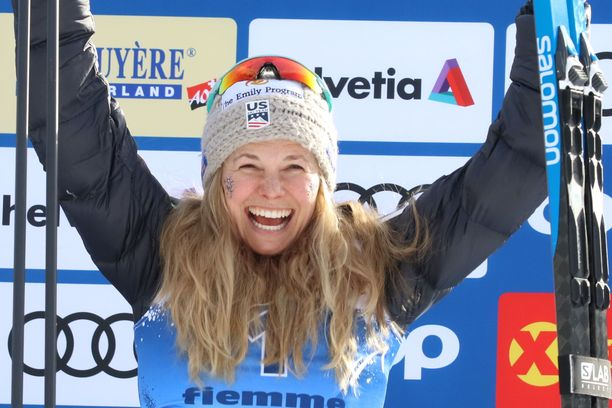 Korona katkaisi Jessica Digginsin ja muiden hiihtäjien kauden.