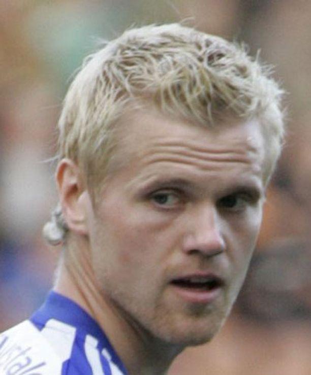 Juho Mäkelä teki viime kevään lainapestinsä aikana HJK:ssa kuusi maalia.