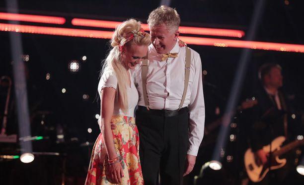 Jutta Heleniuksen ja Pekka Poukan pudotus oli odotettu.