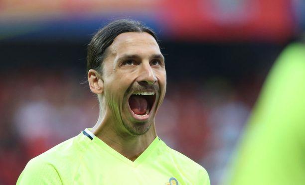 Zlatan Ibrahimovicillä on naispuolinen kaima.