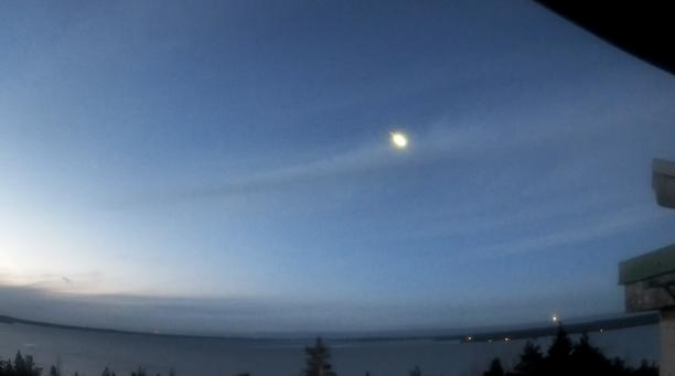Video tulipallon lennosta kuvattiin Tampereen Ursan tähtitornista.