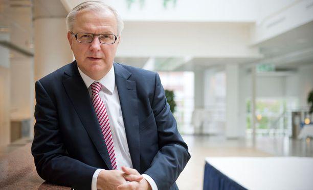 Olli Rehn toipuu sairaalassa verenmyrkytyksestä.