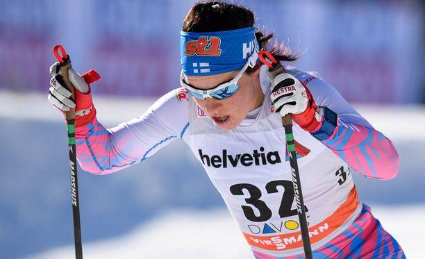 Krista Pärmäkoski oli paras suomalainen vitosen lenkillä.