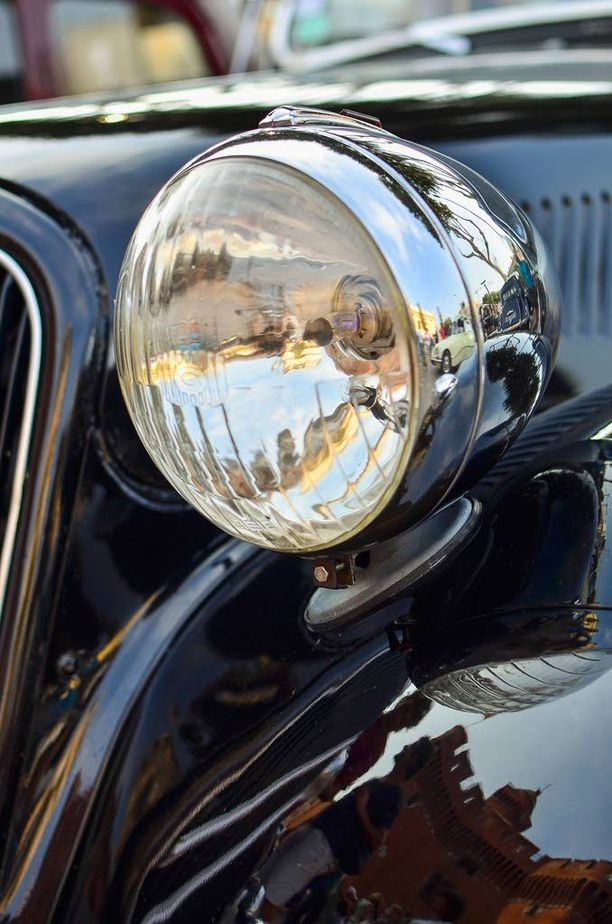 1930-luvun valonheitinmuotoilua.