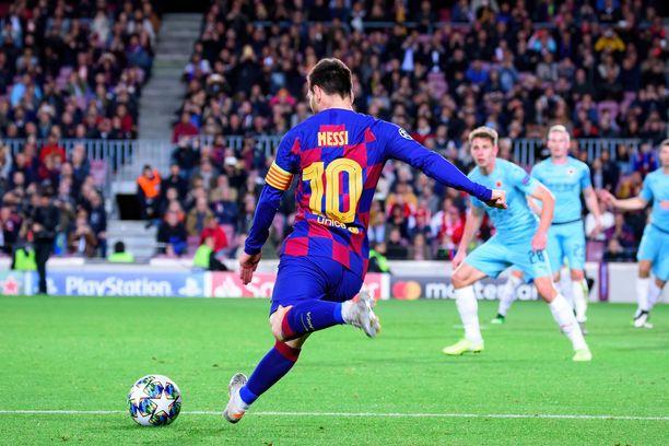 Lionel Messin tähdittämä Barcelona on pelannut ailahtelevan kauden.