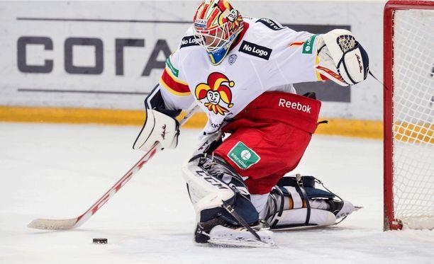 Henrik Karlsson oli voimaton ZSKA:n rynnistyksen edessä.