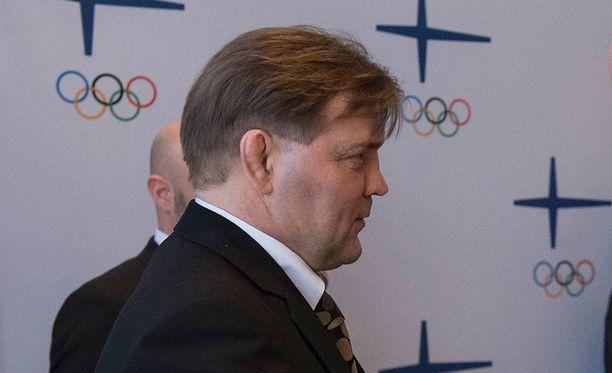 Jouko Salomäki, 55, on painin olympiavoittaja Los Angelesin kisoista kesältä 1984. Hänellä on myös kaksi MM- (kulta ja pronssi) sekä kaksi EM-mitalia (hopea ja pronssi).