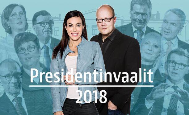 Iltalehden tentin vetävät Susanne Päivärinta ja Juha Ristamäki.