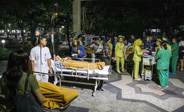 Lombokin saareen iskenyt maanjäristys tuntui myös Balilla, minkä vuoksi Denpasarissa sairaala evakuoi potilaat varmuuden vuoksi ulos.
