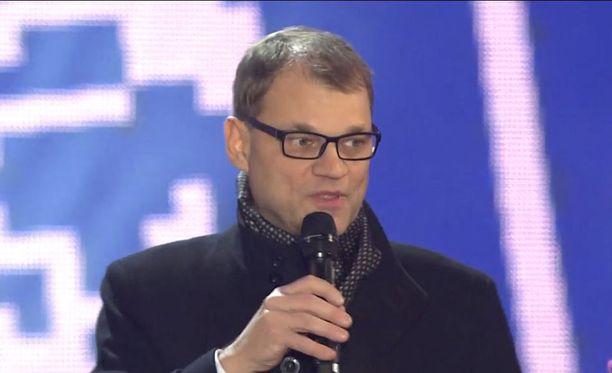 Juha Sipilälle buuattiin Suomi100-tapahtumassa.