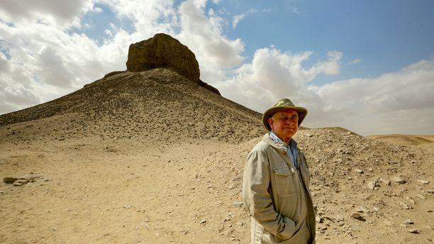 Brittiläinen Mark Lehner on perehtynyt argeologiaan ja Egyptin pyramideihin.