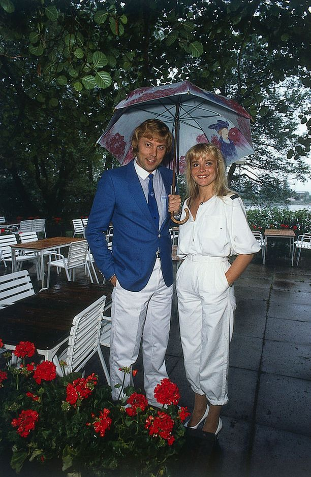 Armi ja Danny sateessa vuonna 1984.