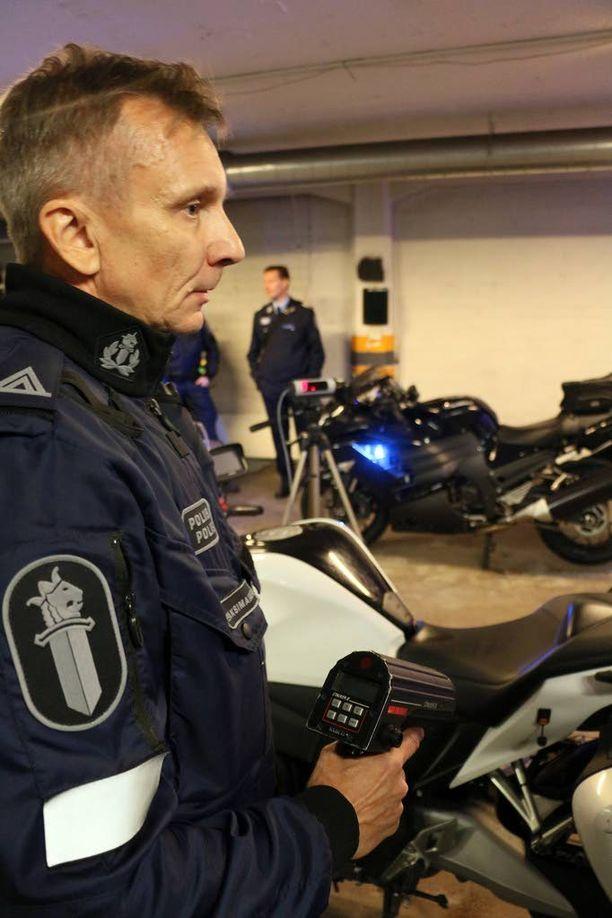Poliisin työ tehostuu tarkkuusalkometrin ansiosta, sanoo ylikonstaapeli Risto Maksimainen.