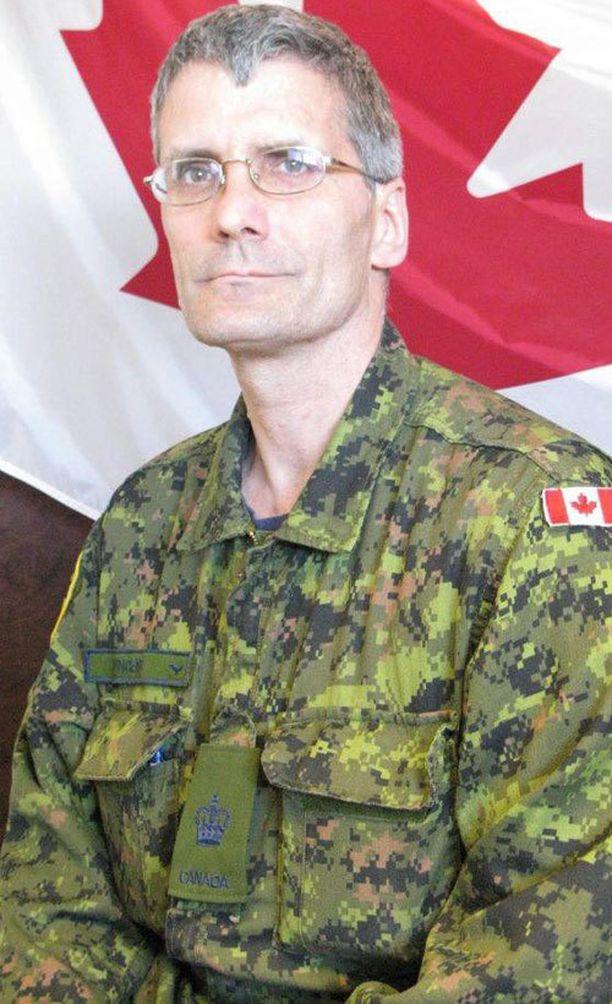 Vääpeli Patrice Vincent kuoli maanantaisessa yliajossa.