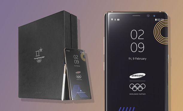 Samsung esitteli erikoisversion Galaxy Note 8 -lippulaivapuhelimestaan.