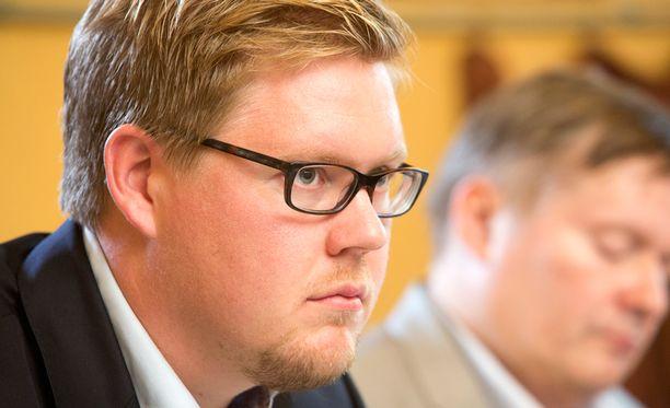 Antti Lindtman (sd).