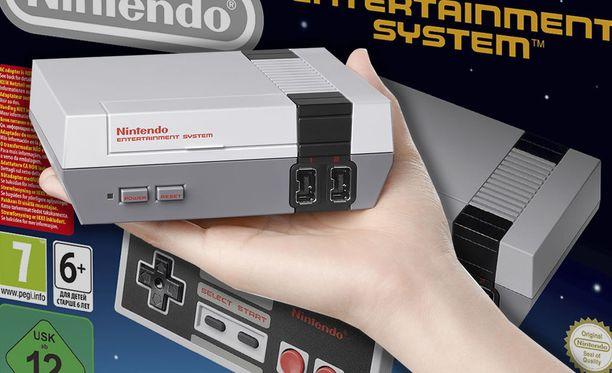 Mini-NES-konsoleita saa taas kaupoista.