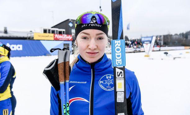 Anita Korva on suomalaisen maastohiihdon suurlupaus.