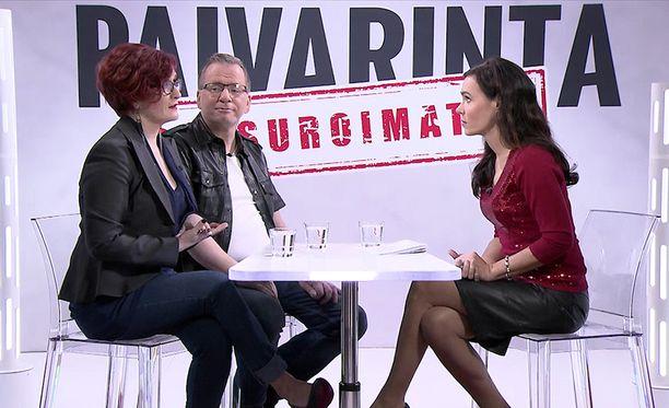 Susanne Päivärinta haastatteli tällä viikolla Tiia ja Jouni Forsströmiä.