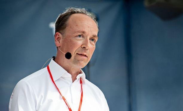 Perussuomalaisten puheenjohtaja Jussi Halla-aho on yksi sunnutaina julkistetuista eduskuntavaaliehdokkaista.