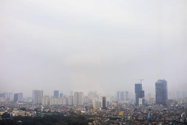 Myös kasvihuonekaasujen määrä oli viime vuonna ennätyslukemissa.