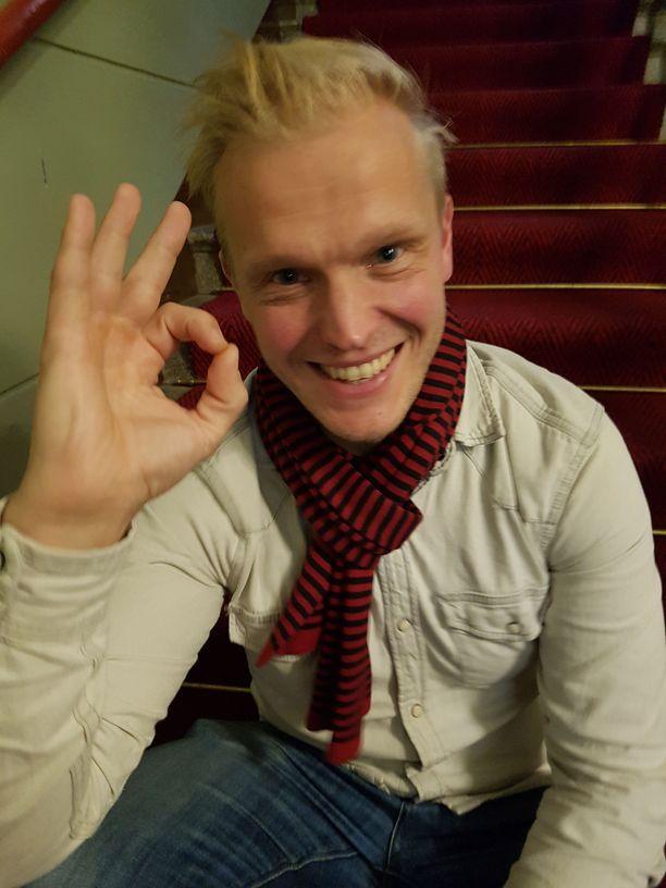 Tatu Mönttinen teki esityksen Matti Nykäsestä.