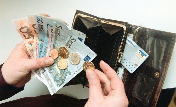 Muun muassa palkkatukea ja starttirahaa maksetaan työllisyysmäärärahoista.